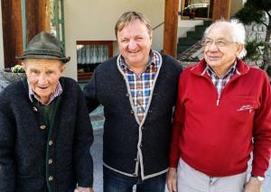 Lentsch Eduard, Hafele Charly & Praxmarer Sepp